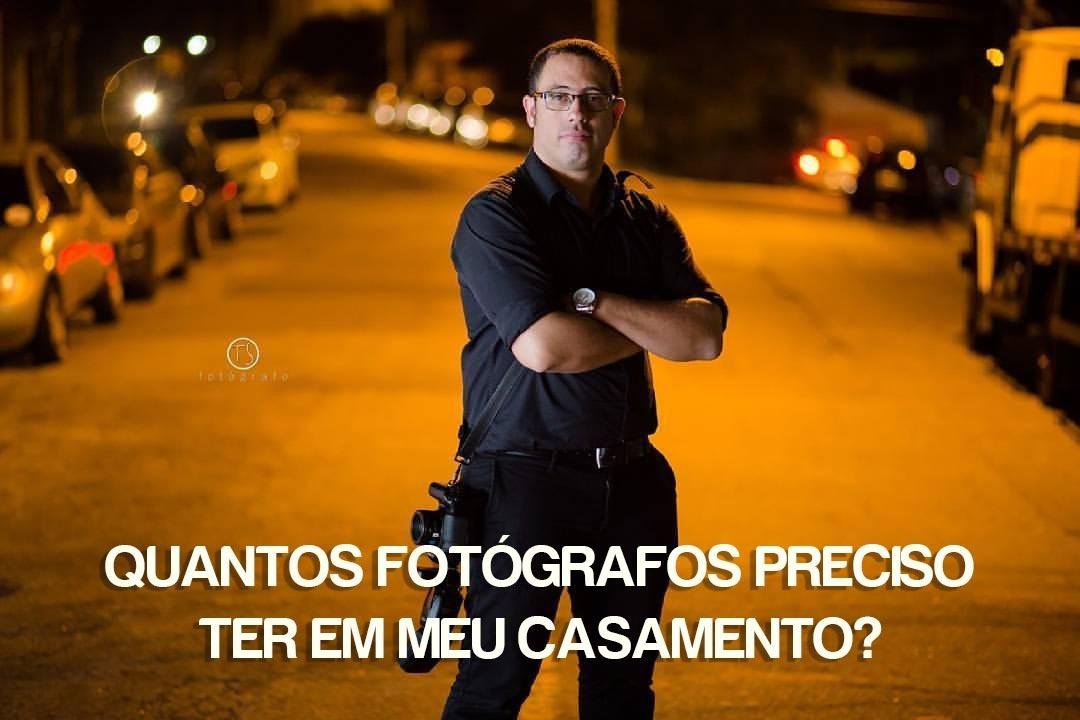 Imagem capa - QUANTOS FOTÓGRAFOS PRECISO TER EM MEU CASAMENTO? por Fernando Martins