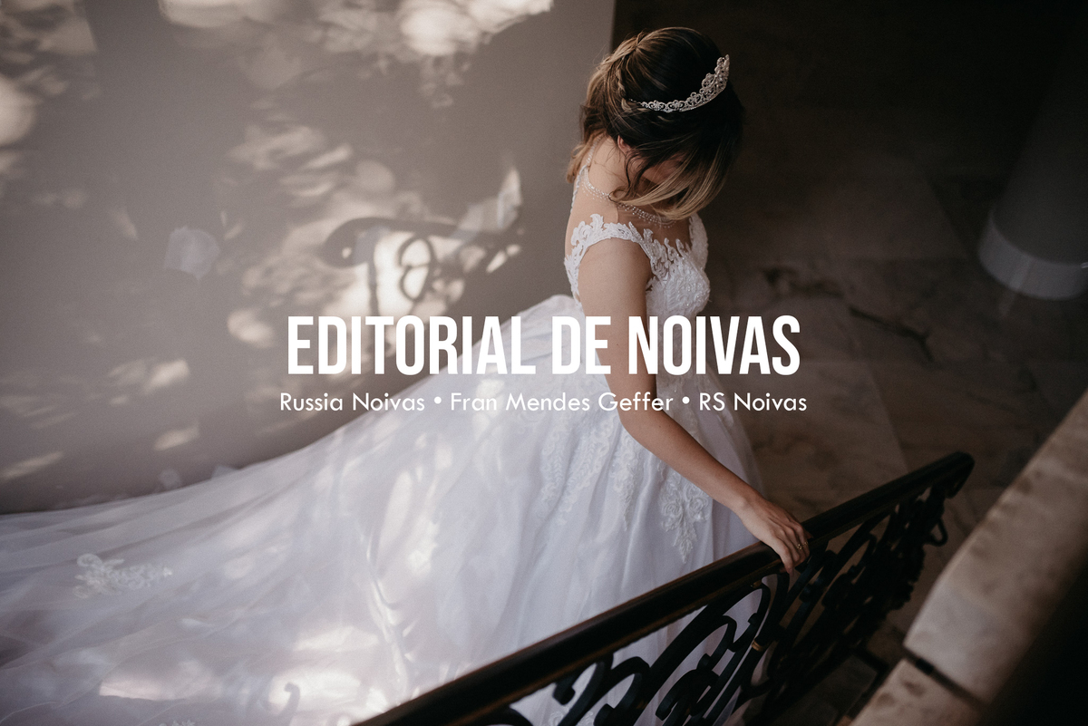 Imagem capa - Vestido de Noiva - Editorial Russia Noivas por Leandro Pedroso