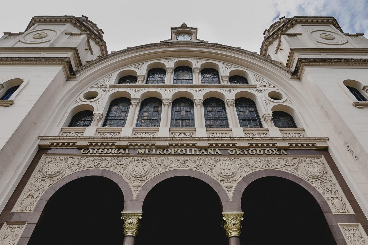 fachada da igreja ortodoxa antioquina localizada no bairro do paraiso, sao paulo sp