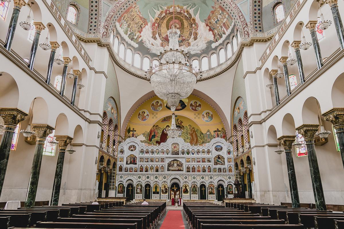 interior da igreja ortodoxa antioquina localizado no bairro do paraiso sao paulo sp