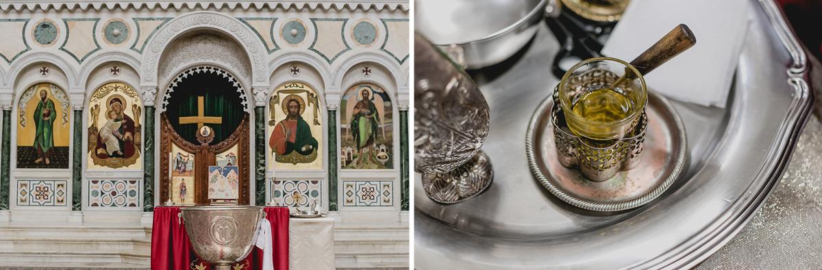 detalhes do oleo usado no batizado do Joaquim