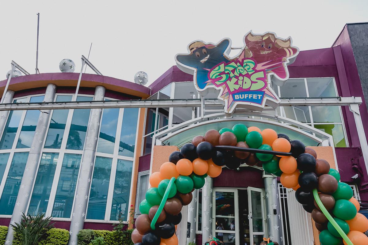fachada do buffet star kids localizado na zona norte de sao paulo, sp