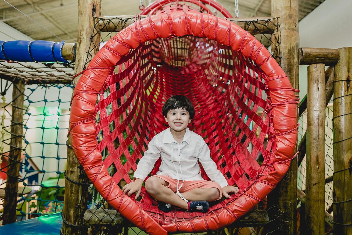 retrato no tunel vermelho do buffet espaço puzzle