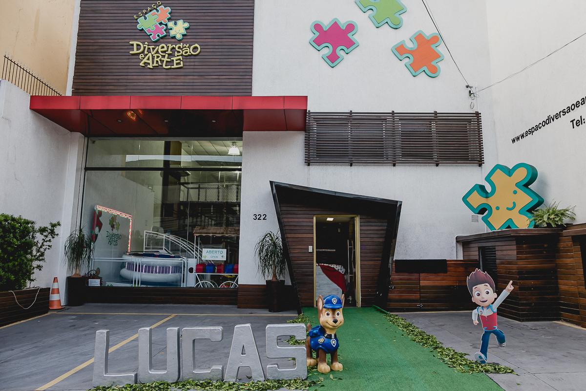 fachada do buffet diversao e arte localizado na zona norte sao paulo sp