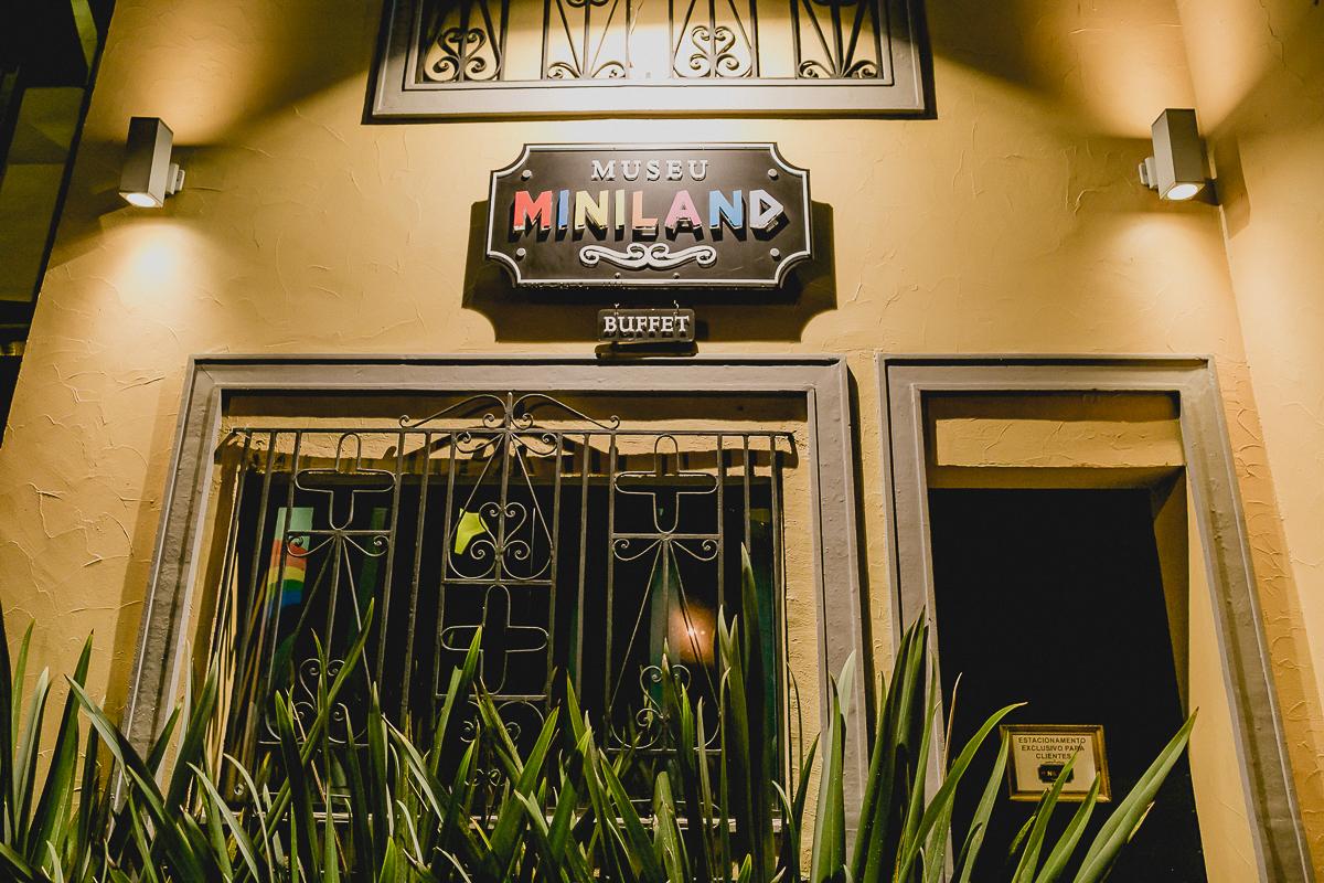 fachada do buffet museu miniland localizado no tatuape sp