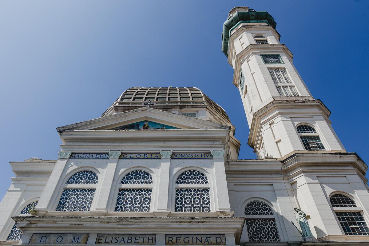 Fachada da paróquia santa isabel rainha localizada no bairro do carrao sao paulo sp