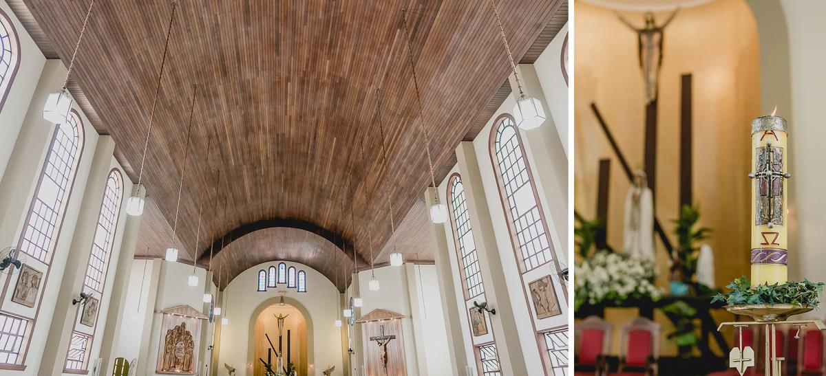 Interior da Paroquia Nossa Senhora de Fatima da Vila Leopoldina