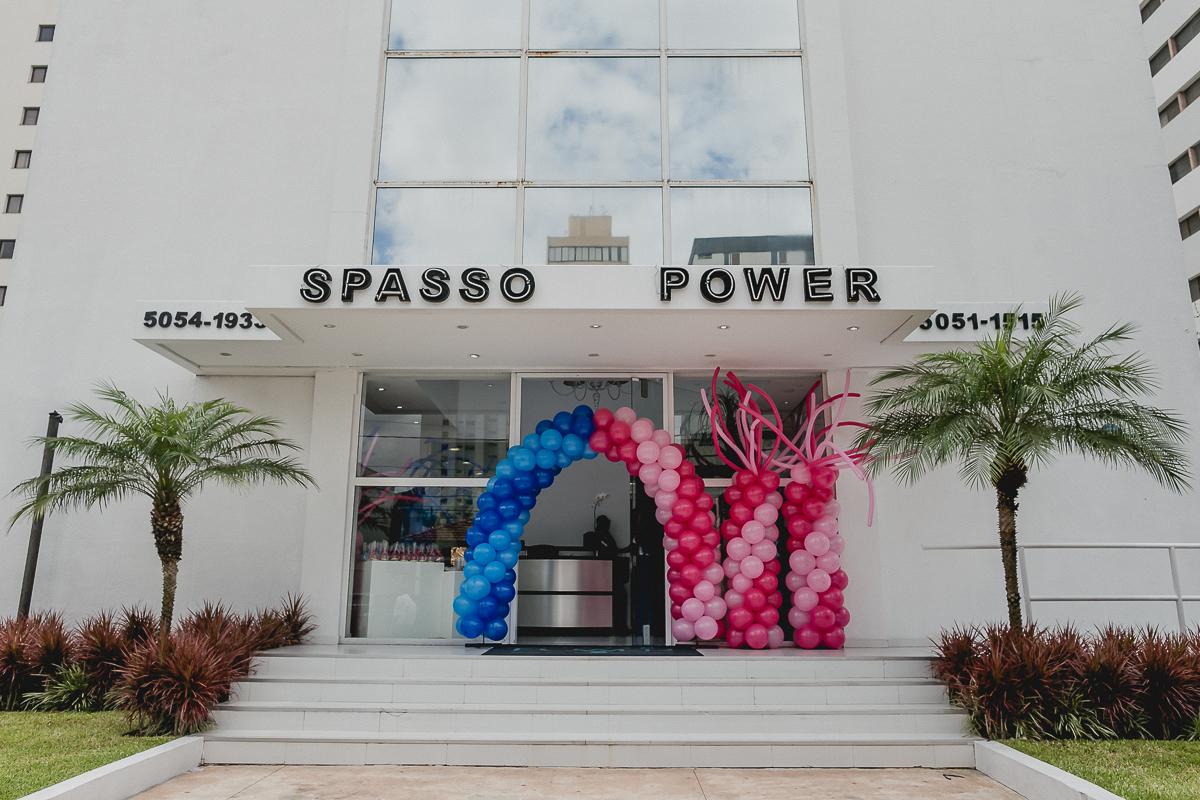 fachada do buffet spasso power localizado em moema sp