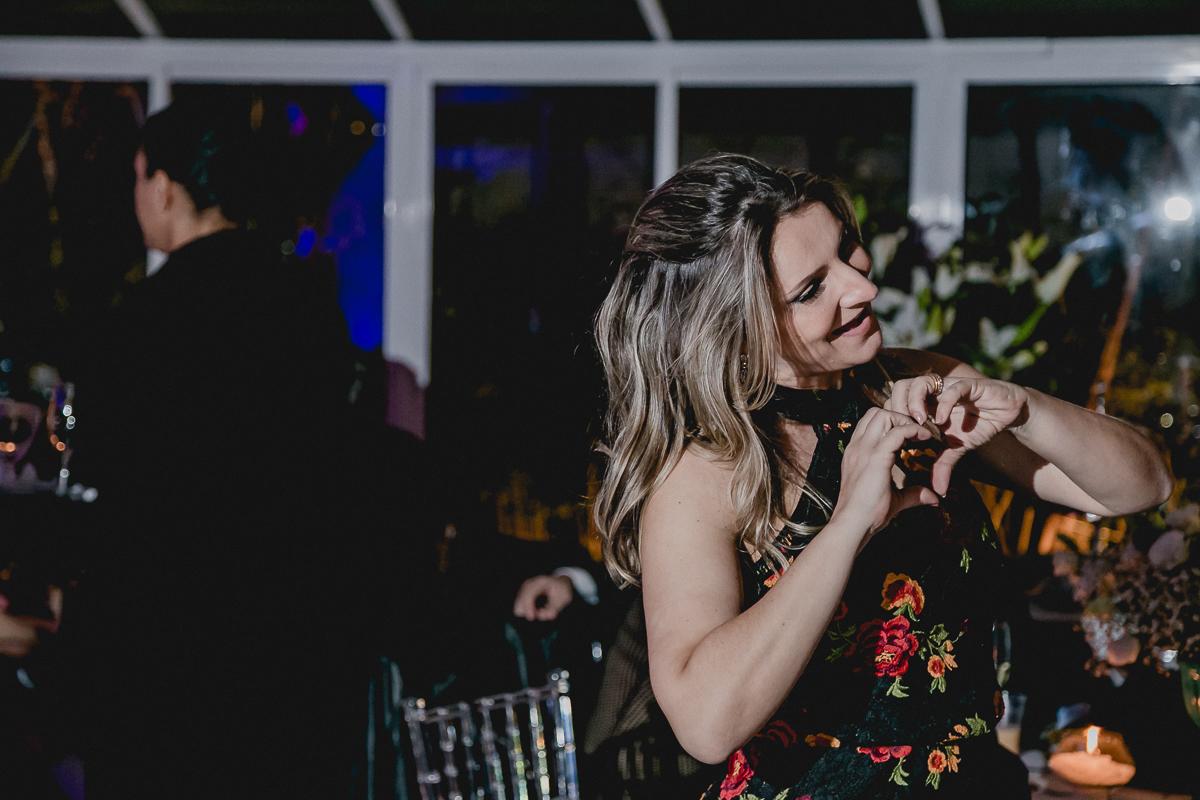 Coraçãozinho na festa da Renata