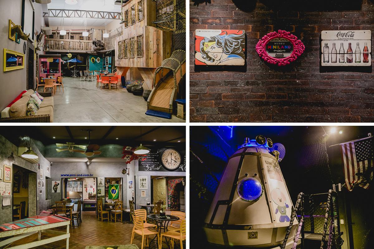 Ambientes do Buffet Museu Miniland