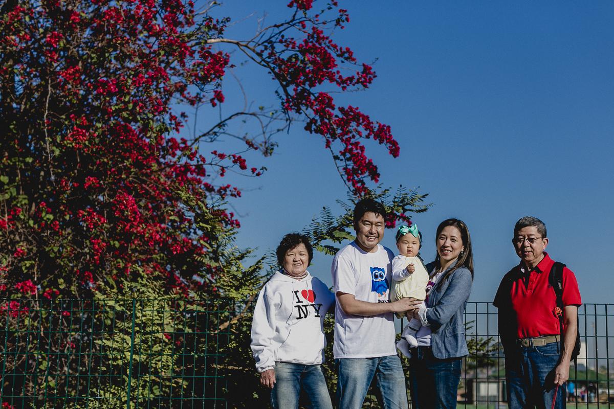 retrato com a familia