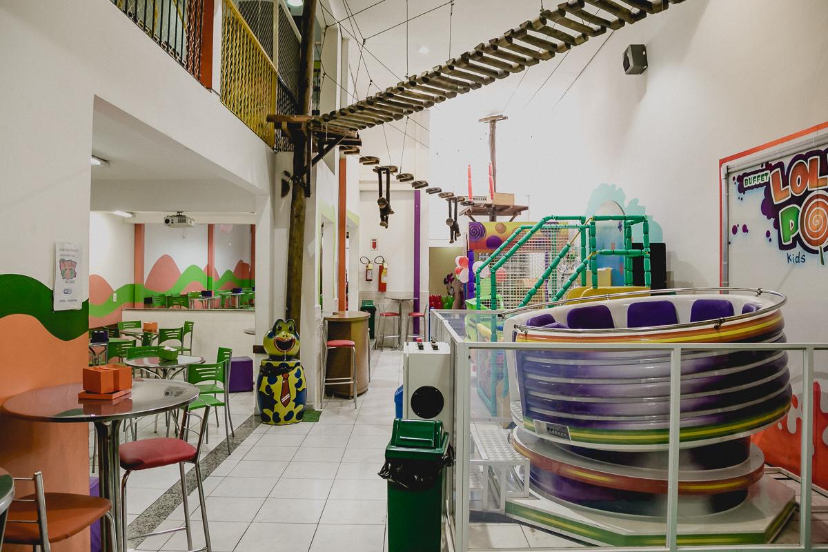 interior do buffet lolly pop localizado no ipiranga em são paulo - sp