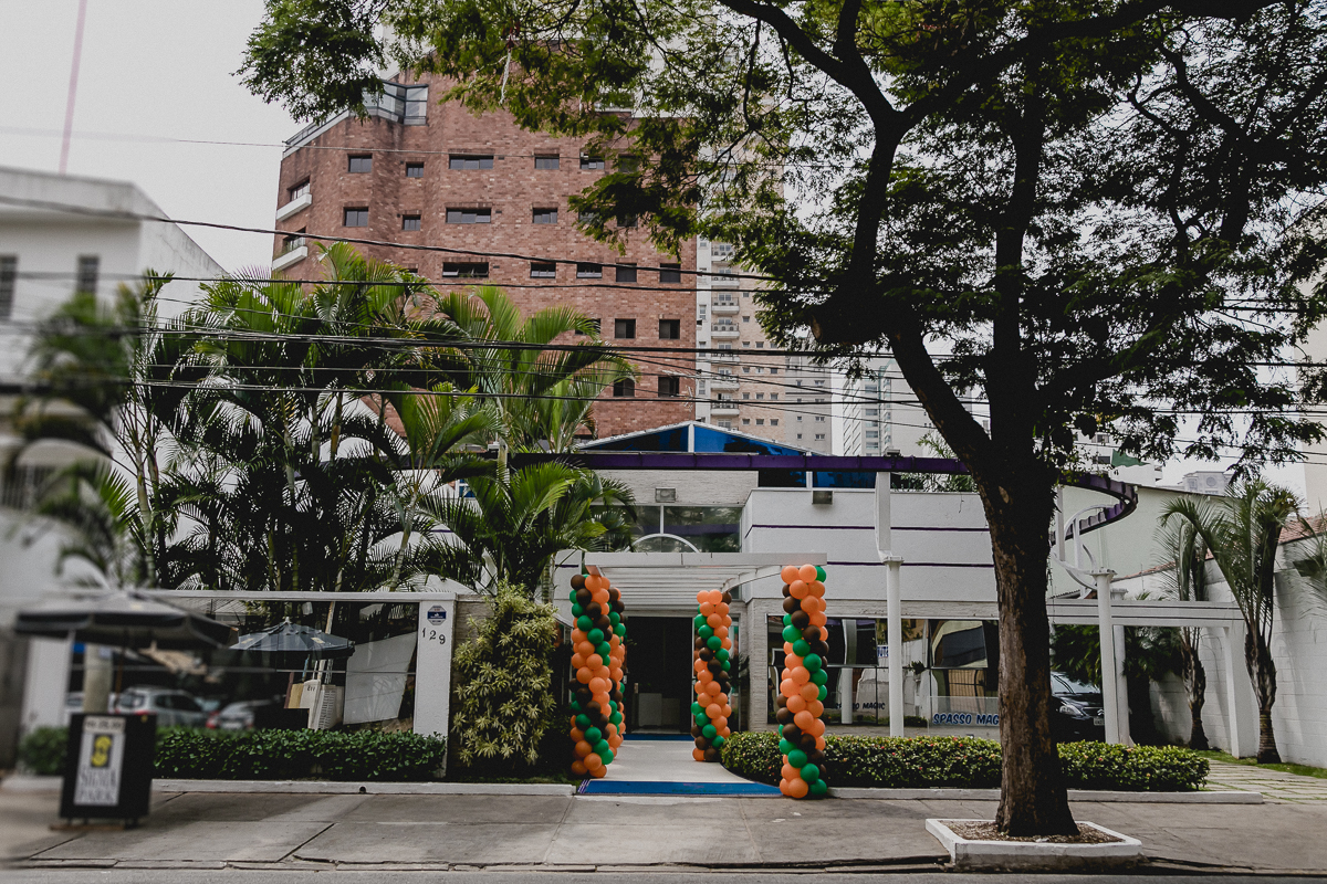 Fachada do Buffet Spasso Magic em Moema Sao Paulo SP