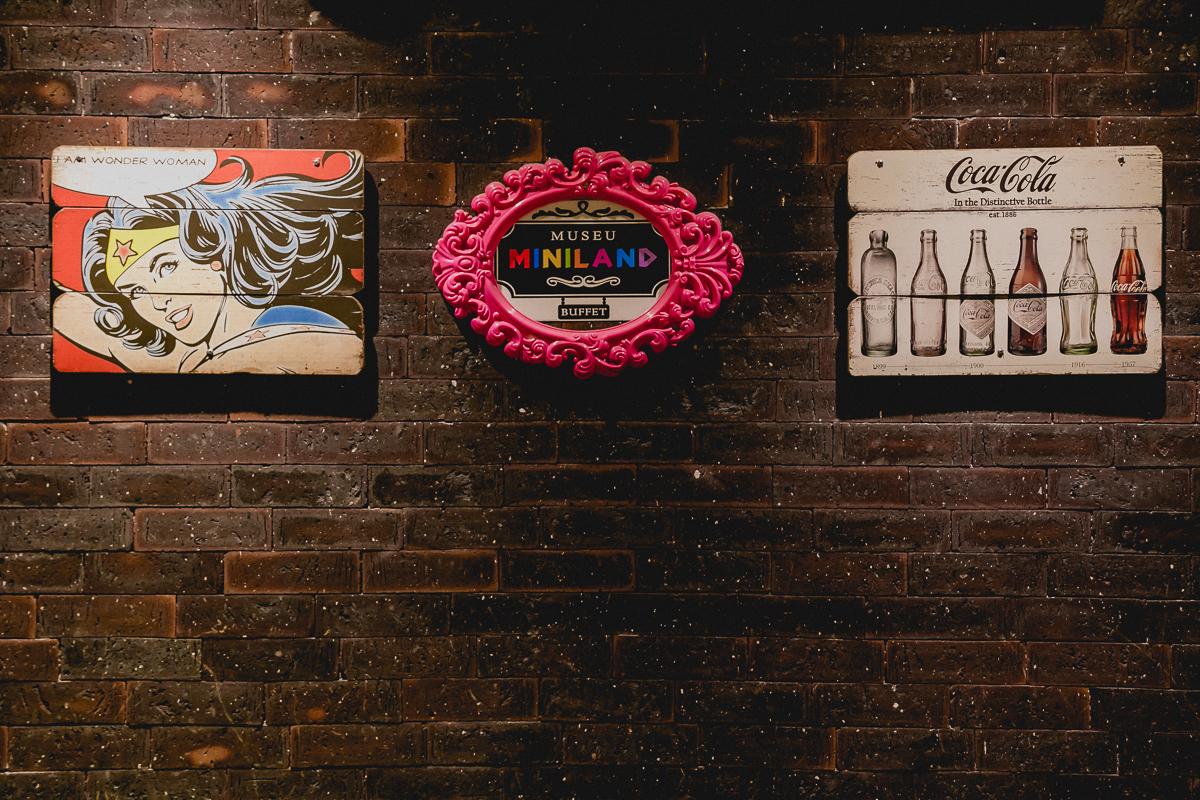 detalhes do buffet museu miniland