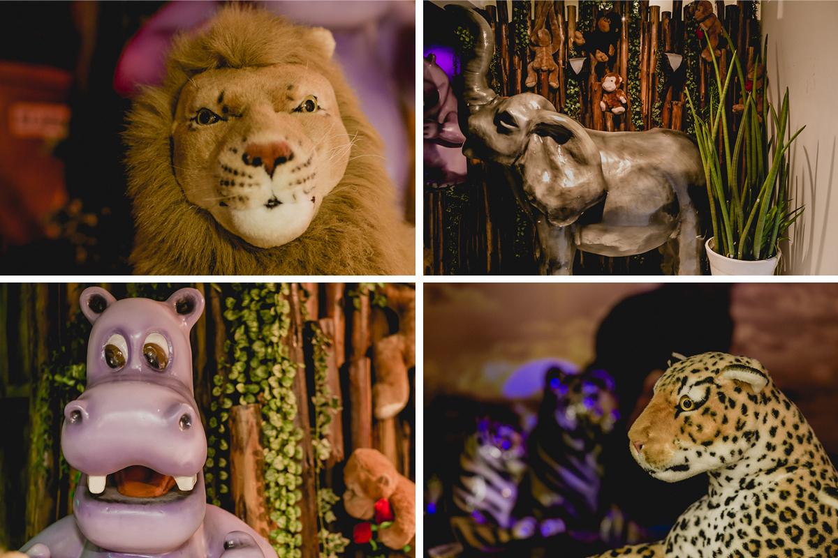 detalhes da mesa safari