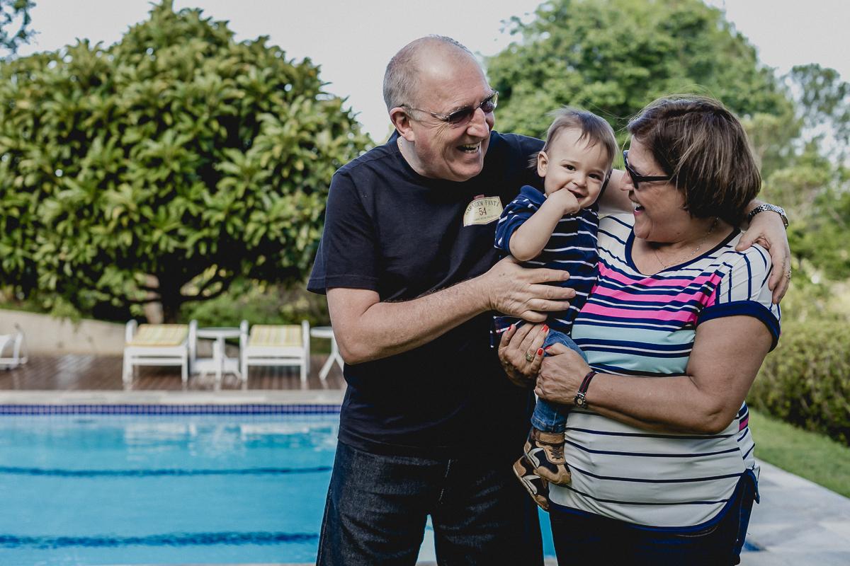 retrato com os avos
