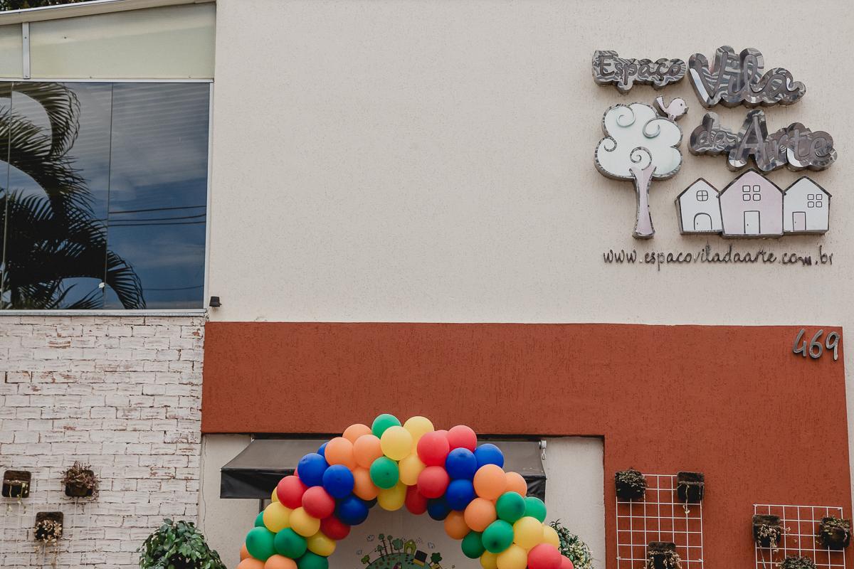Fachada do Buffet Espaço Vila da Arte localizado na Água Fria São Paulo SP