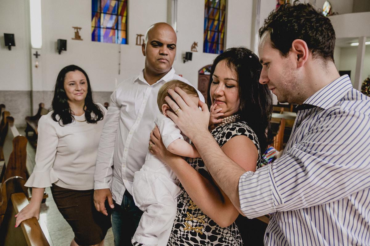 cerimonia do batizado do theo