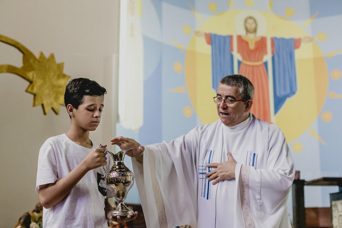 batismo do THeo