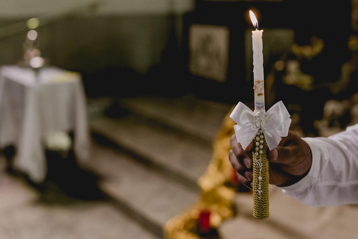 vela do batismo acessa