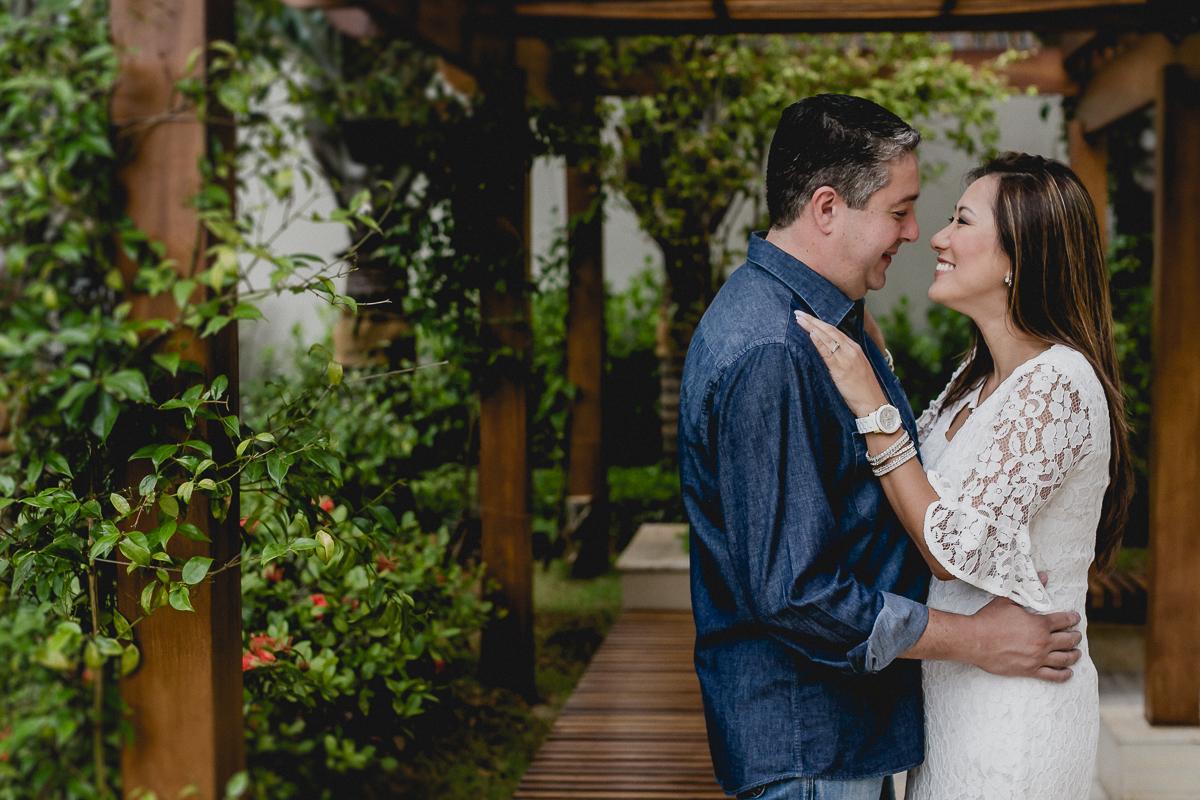 Fotografia de casal Sandrinha e marido