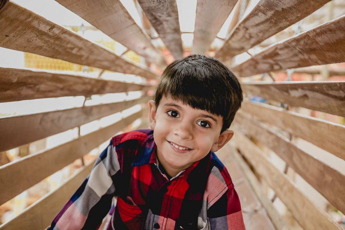retrato no tunel