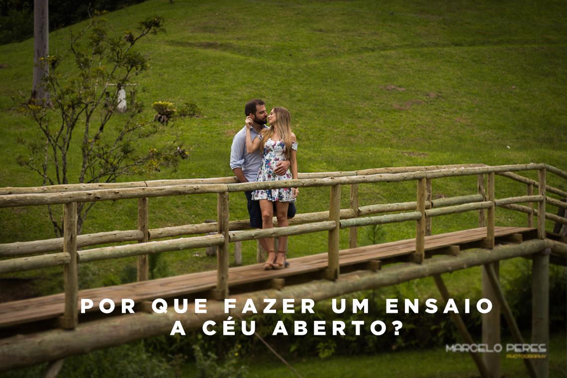 Imagem capa - Por que fazer um ensaio a céu aberto? por Marcelo Peres