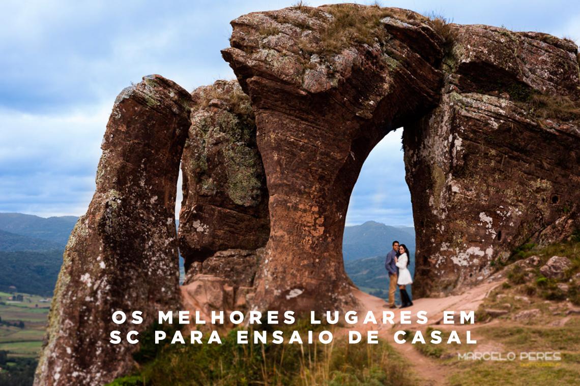 Imagem capa - Os melhores lugares em SC para ensaio de casal por Marcelo Peres