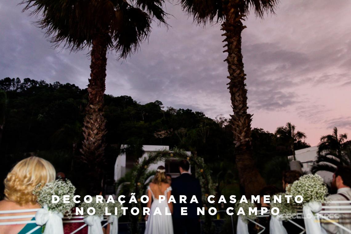Imagem capa - Decoração para casamento no litoral e no campo por Marcelo Peres