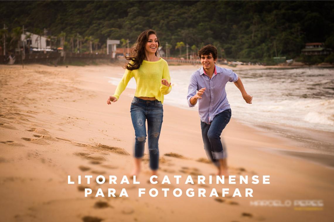 Imagem capa - Praias catarinenses: cenários paradisíacos para fotografia de casais por Marcelo Peres