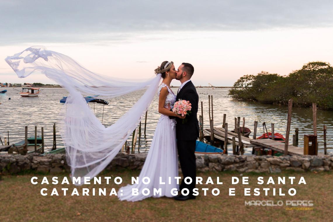 Imagem capa - Casamento no Litoral de Santa Catarina: bom gosto e estilo por Marcelo Peres