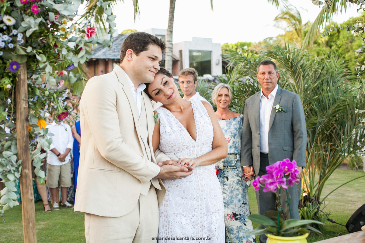 FOTOGRAFIA do CASAMENTO de Mariana e Paulo por ERNANDES ALCANTARA em TRANCOSO-BAHIA