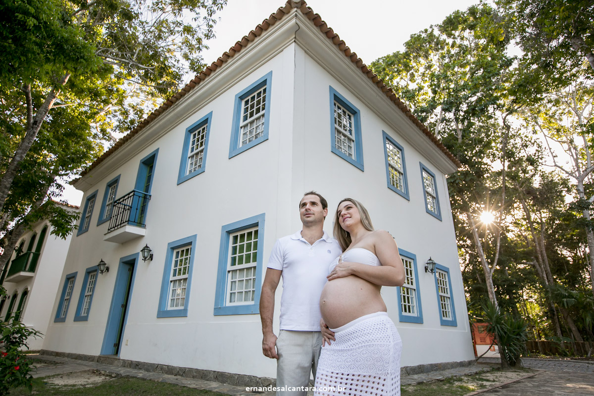 fotografia gestante Dani e Phelipe   Davi clicada por ERNANDES ALCANTARA em Santo André  - Cabrália