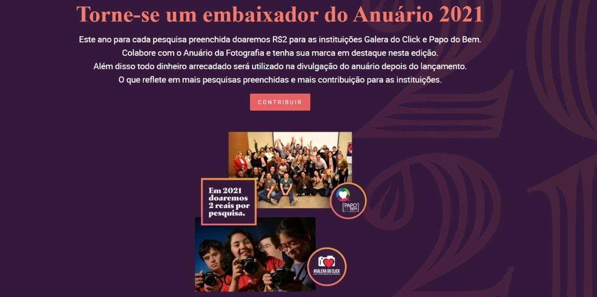 Imagem capa - Anuário da Fotografia - Edição 2021 por Fernando Coutinho Fotografia e Cinema