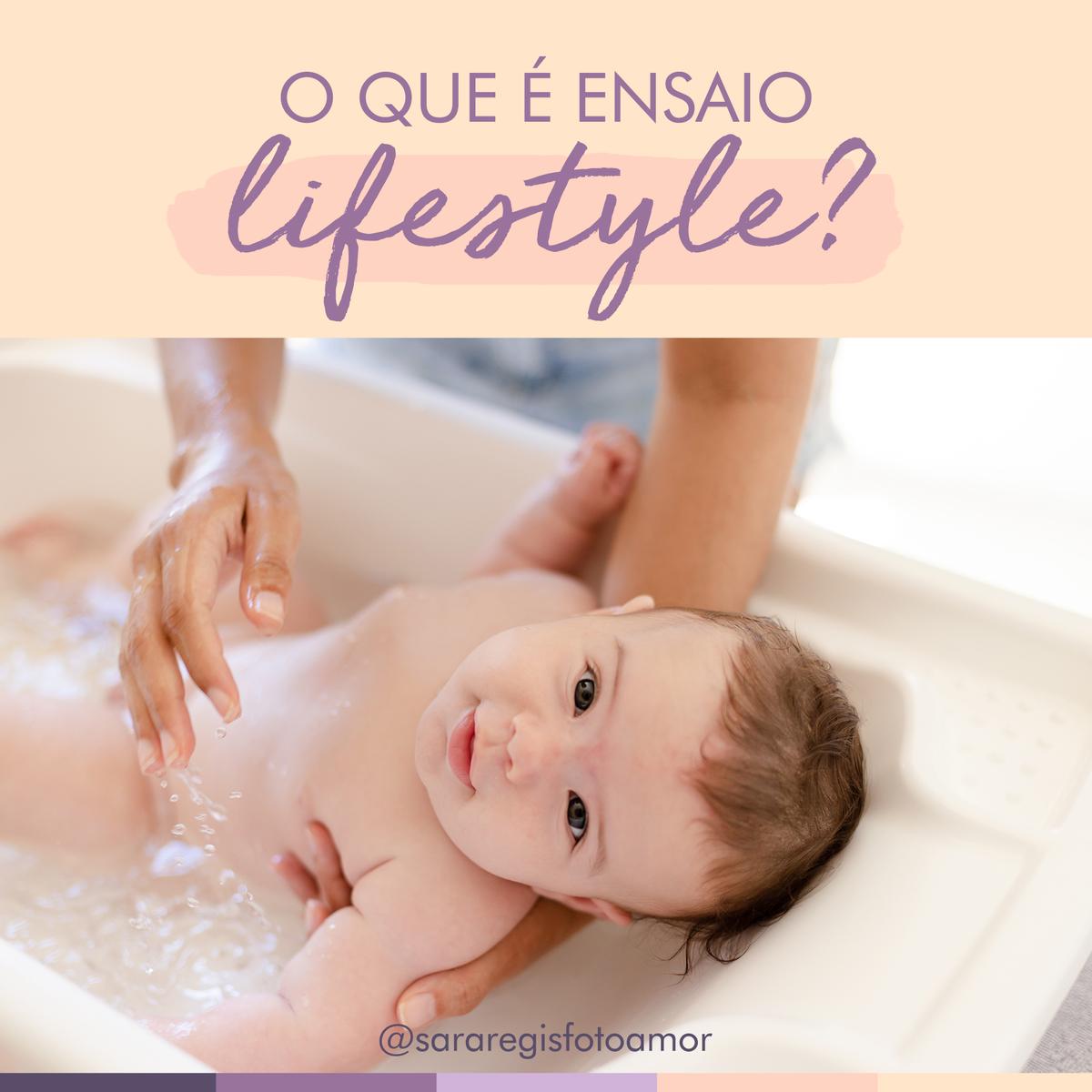 Imagem capa - Ensaio Lifestyle: o que é? por Sara Regis