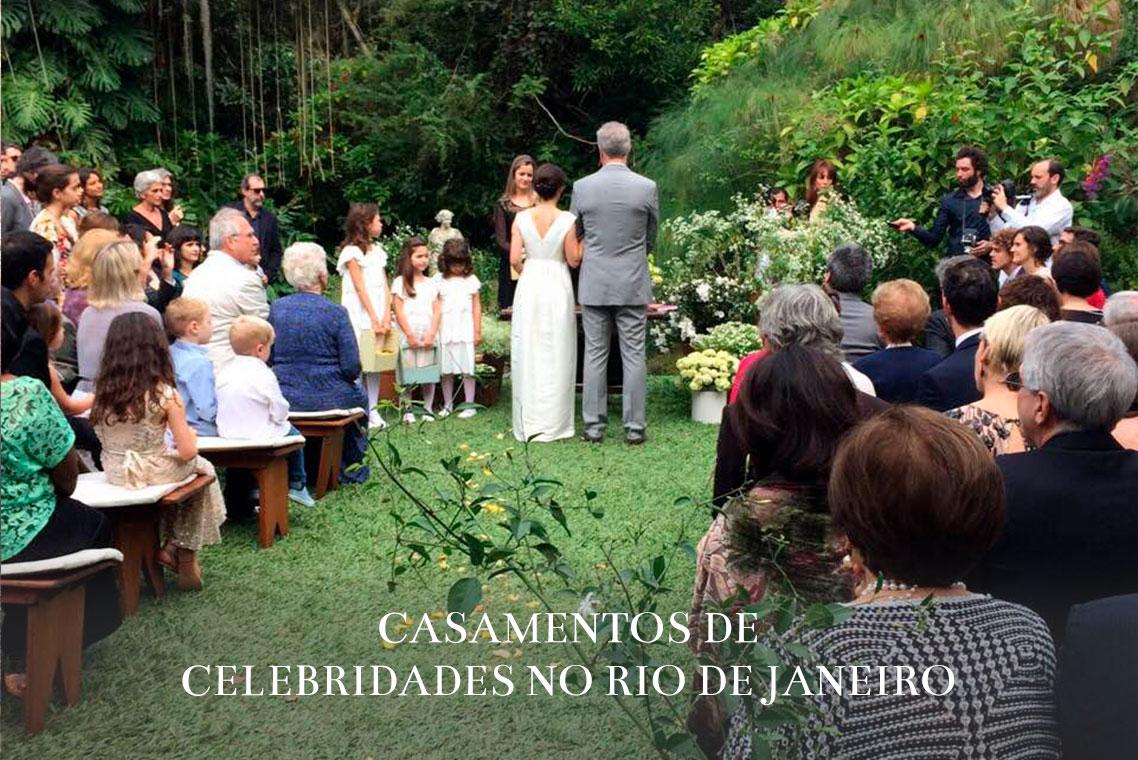 Imagem capa - Selecionamos 5 celebridades que optaram por celebrar o casamento em cidades do Rio de Janeiro por ROMILDO VICTORINO