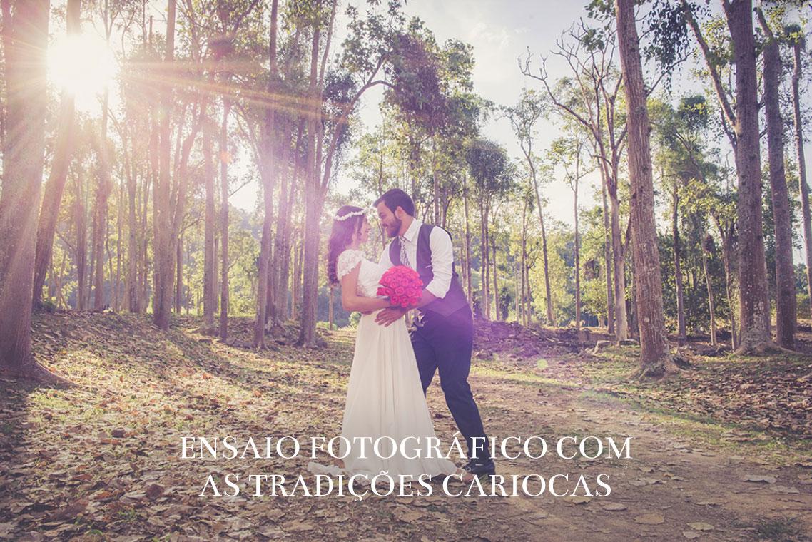 Imagem capa - Que tal um ensaio fotográfico com as tradições cariocas? por ROMILDO VICTORINO