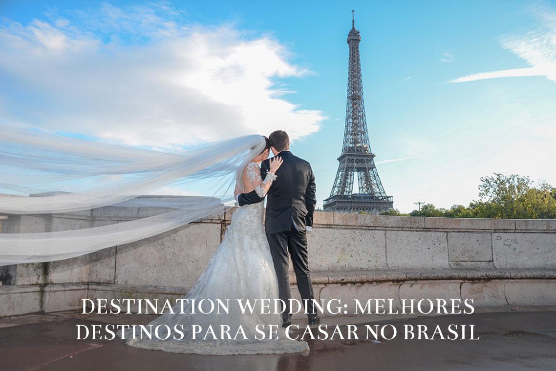 Imagem capa - Destination Wedding: melhores destinos para se casar no Brasil por ROMILDO VICTORINO