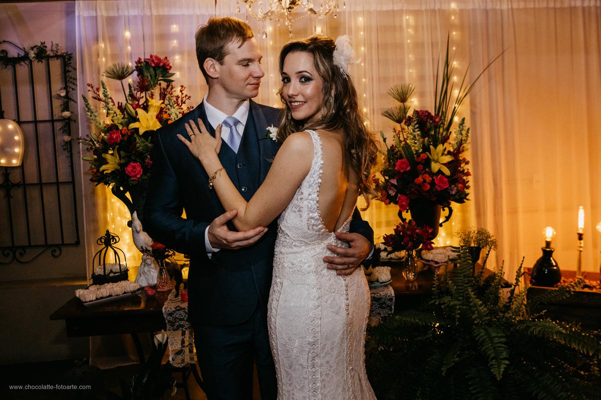 Casamento Mini Wedding Adriana Pedro Flores Na