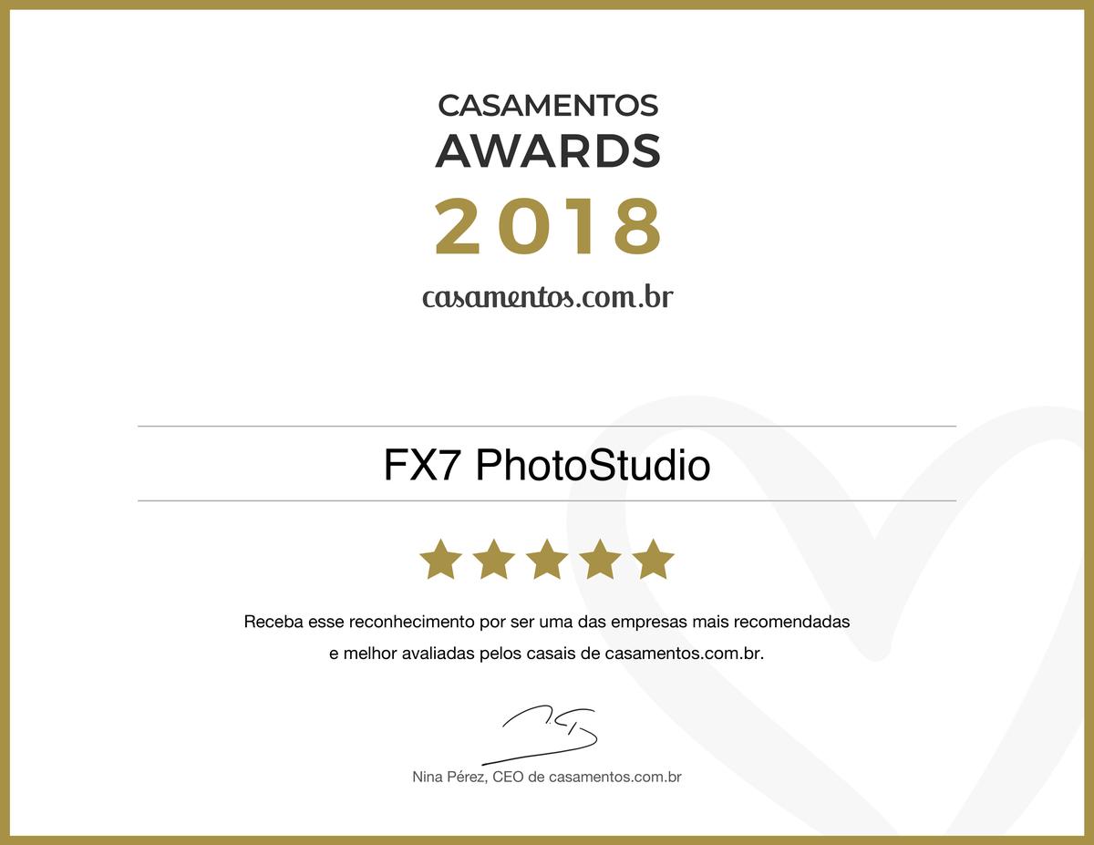 Imagem capa - Prêmio Melhores do Ano de 2018 - Site Casamentos.com.br por FELIPE MENEGAZZI BARBOSA