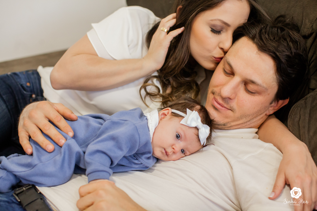 Foto de Portrait Família { Josy+Gabriel=Beatriz }