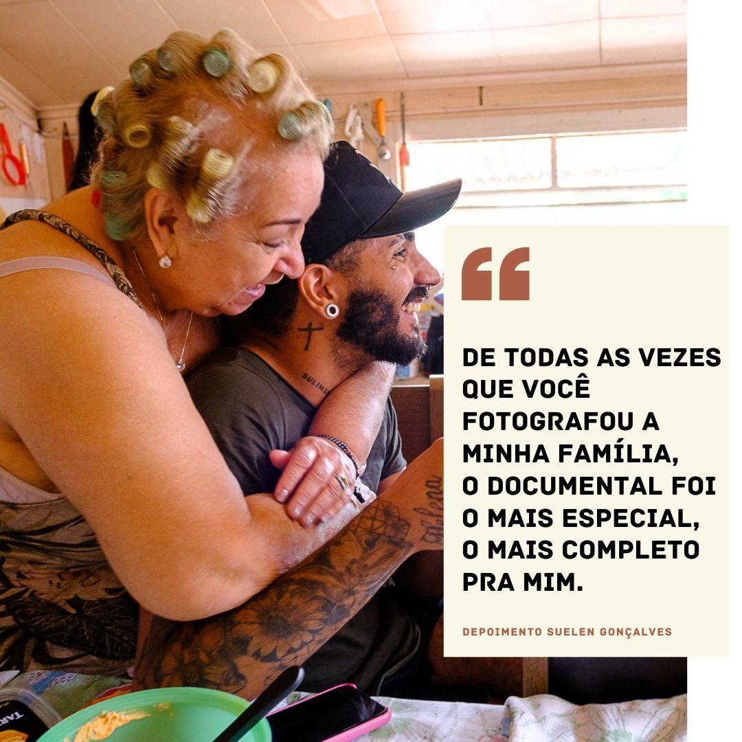 Imagem capa - A opinião da família - Suelen Gonçalves por Evelen Torrens