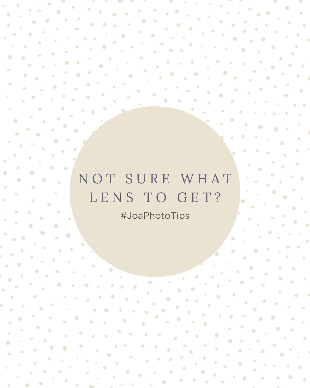 Imagem capa - Not sure what lens to get? - #JoaPhotoTips por Joanna Pantigoso