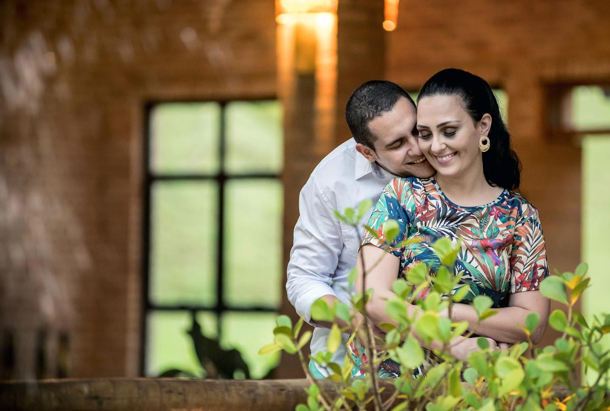 Foto de Carla e Guilherme