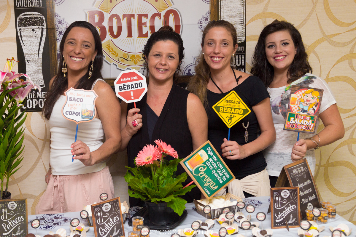 Aniversário Adulto Festa No Boteco Fernanda São Caetano Sp