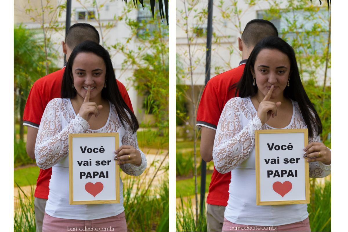 Imagem capa - Você vai ser papai ! por Letícia Gonsalli