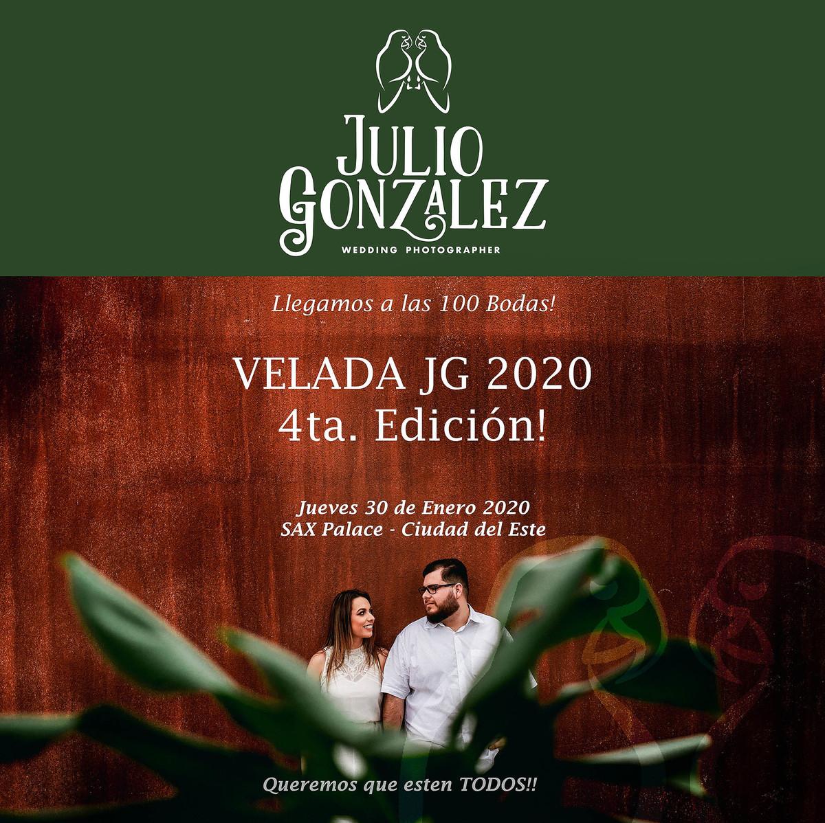 Imagem capa - Velada JG  por JULIO CESAR GONZALEZ BOGADO