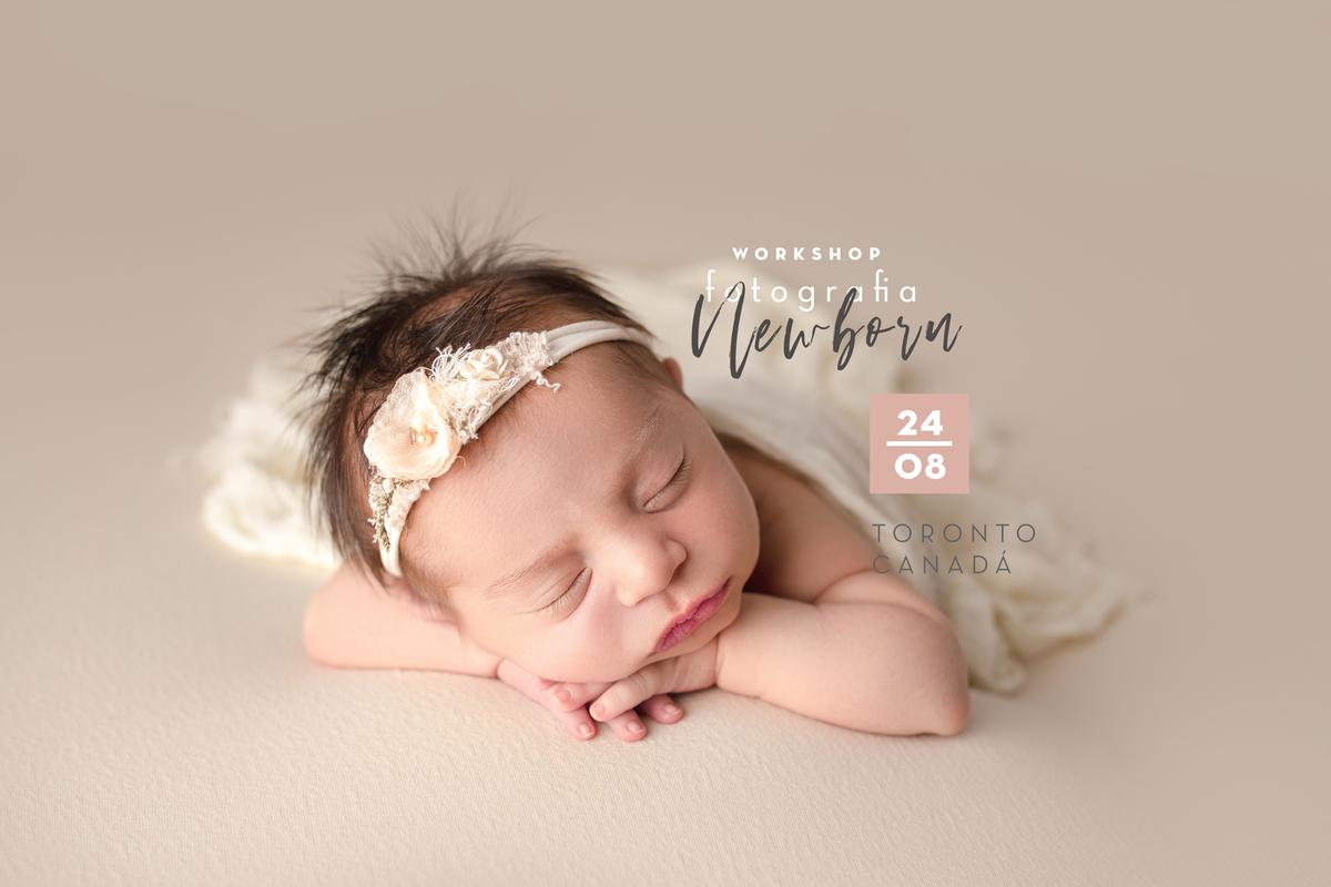Imagem capa - Workshop Fotografia Newborn  por Tainá Porto