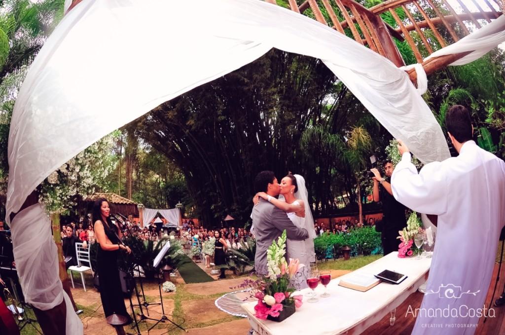 Foto de Marcela e Frederico