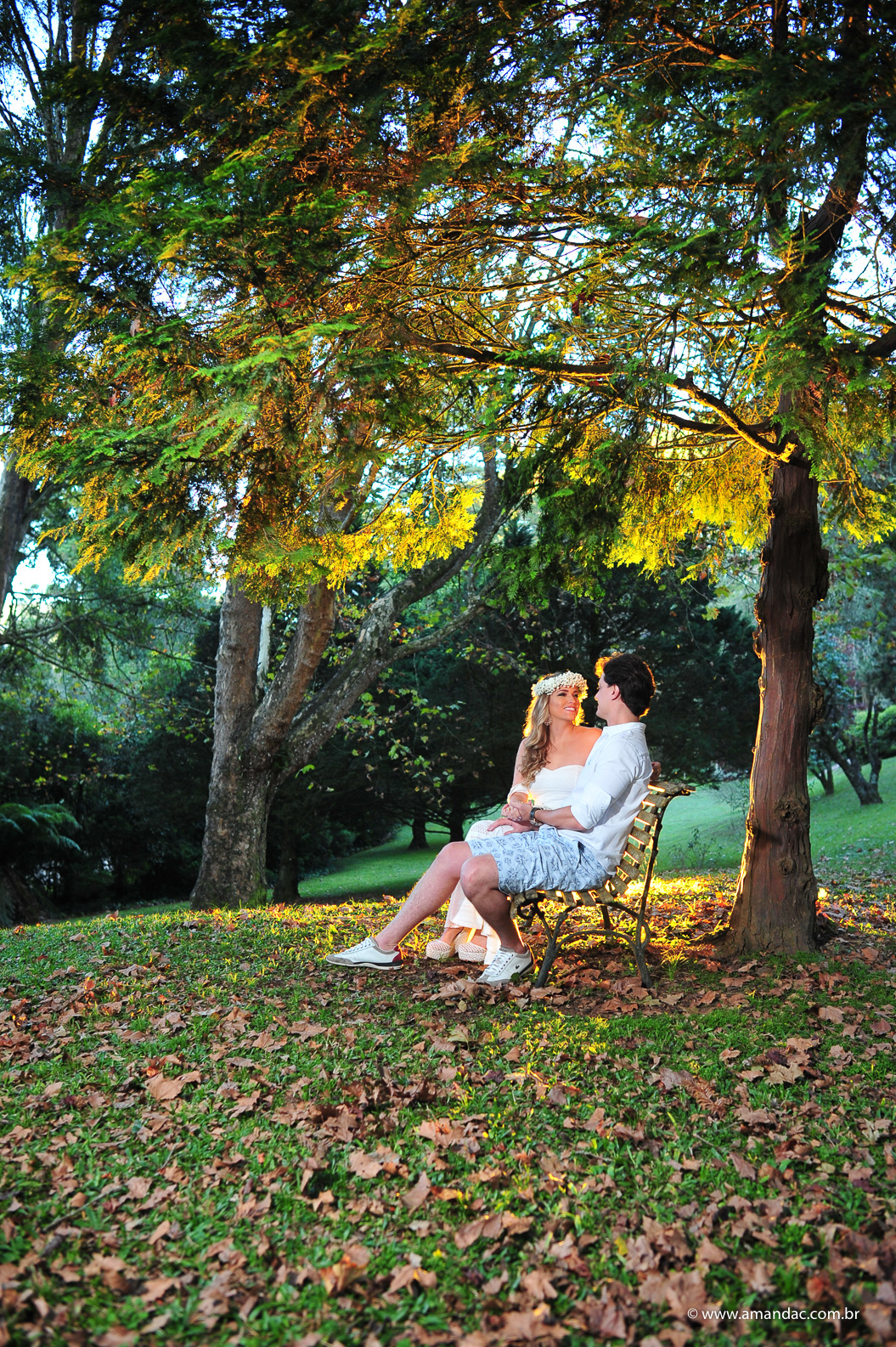 Foto de Roberta + João | No friozinho de Monte Verde